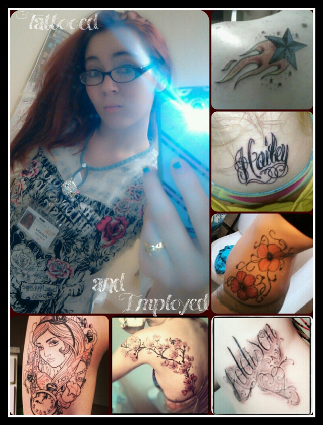 #tattooed and #employed #cna