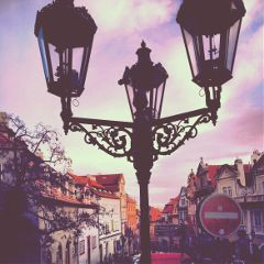 lamp photography streets