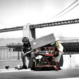 photography photostory black & white color splash travel places