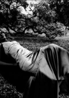 black & white vintage emotions citypark people