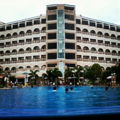 hotel resort summer philippines building pool