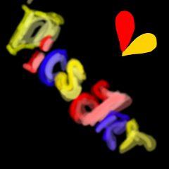 dcgraffiti colorful love cute pencil art color splash