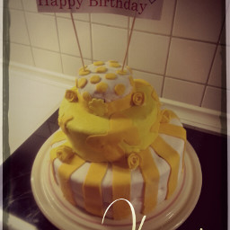 food birthday photography