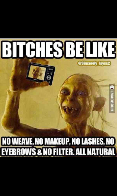 Almost every girl in my school funny meme quote ugly ...